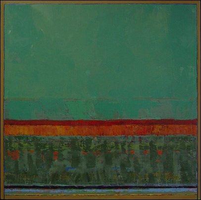 "David Sorensen, ""HorizonVert,"" 2006, 55x55"