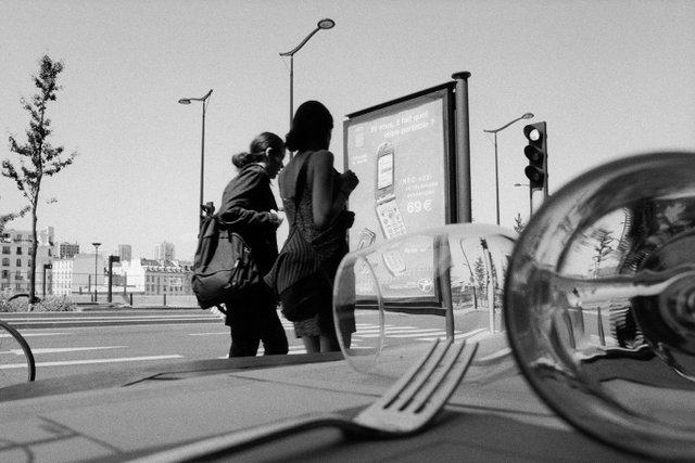 Street Photographs of Paris & Vancouver by Alan Jacques.