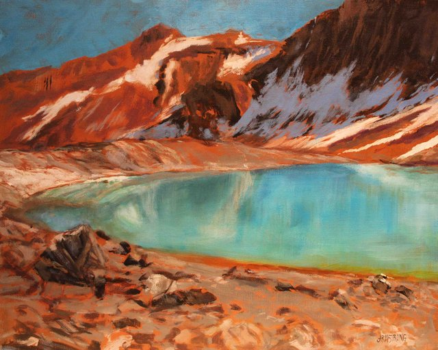 "Janet Armstrong ""Morning in the Bugaboos"" 2016"