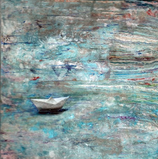 """Gail Rydman, """"Paper Re-Launched"""""""