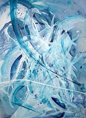 """Deborah Philipp, """"Liquid Motion Series No. 7"""""""