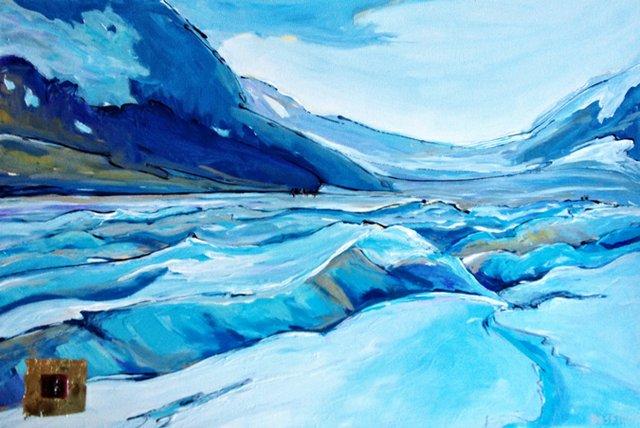 "Lyse Deselliers, ""Glacier I"""