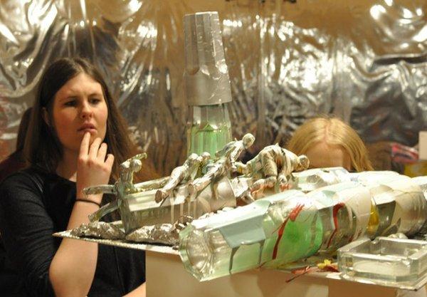 """""""MashUp"""" installation view - Isa Genzken"""