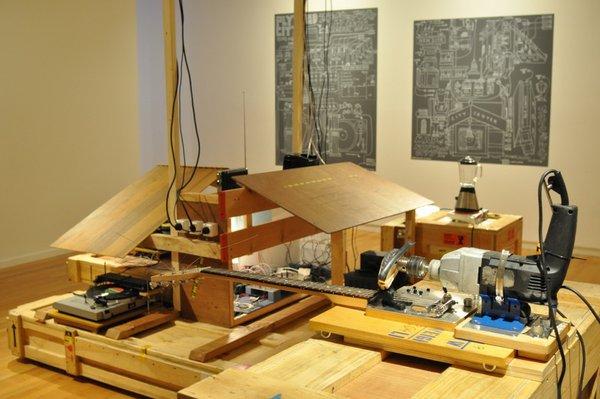 """""""MashUp"""" installation view - Ujino"""