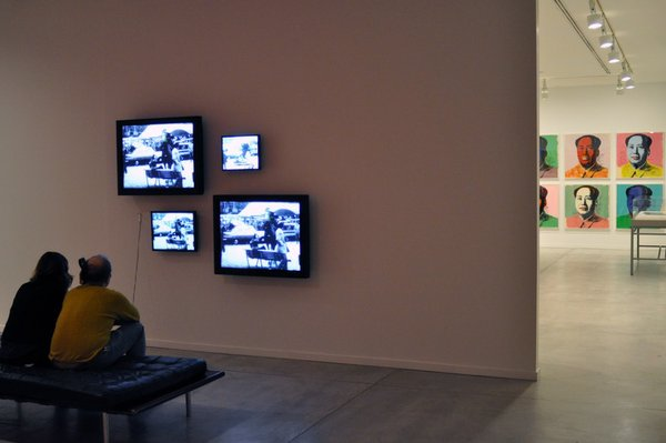 """""""MashUp"""" installation view - Guy Debord, """"Society of the Spectacle"""""""