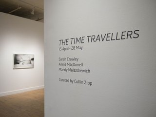 """""""The Time Travellers"""" installation view 1"""