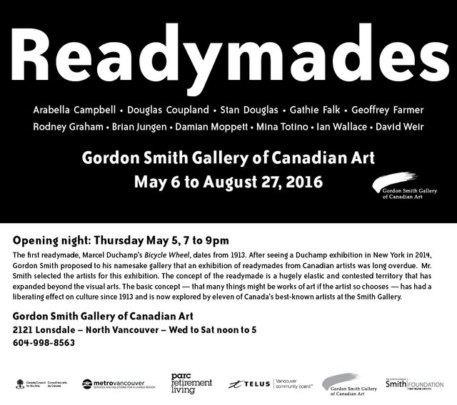 Readymades invitation