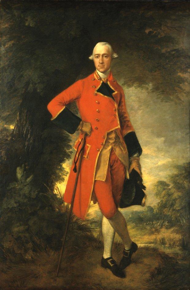"Thomas Gainsborough, ""Lieutenant-Colonel Edmund Nugent,"" 1764"