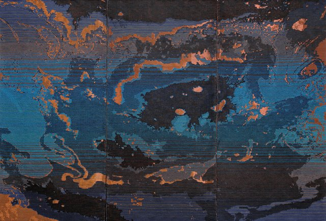 "Ruth Beer, ""Oil Topography,"" 2014"