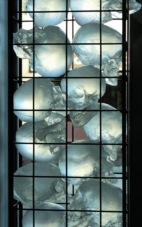 """Ione Thorkelsson, """"Skulls (detail),"""" 2006"""