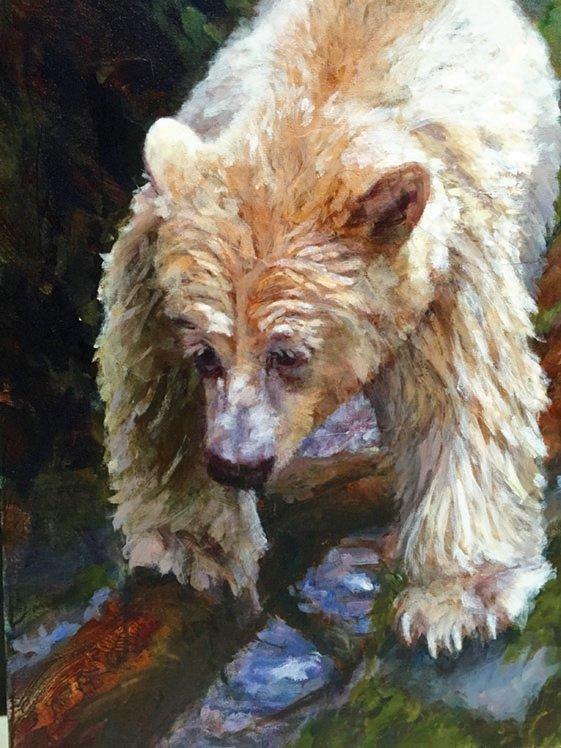 """Doria Moodie, """"Spirit Cub,"""" 2015"""