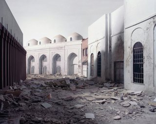 "Wafaa Bilal, ""The Ashes Series: Al-Mutanabbi Street,"" 2003-2013"