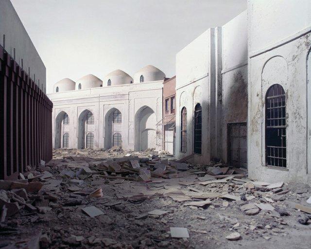 "Wafaa Bilal, ""The Ashes Series: Al-Mutanabbi Street,"" 2003-2013"