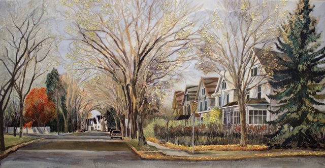 "Heather Cline, ""Urban Forest, Varsity View,"" 2015"