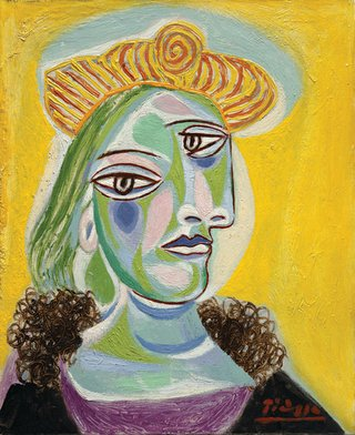 "Pablo Picasso, ""Bust of a Woman (Dora Maar),"" 1938"