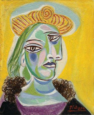 "Pablo Picasso, ""Bust of a Woman (Dora Maar),"" 1938"