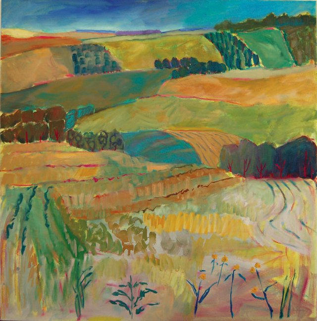 "Lynn Malin, ""Vista Near Pine Lake,"" 2014"