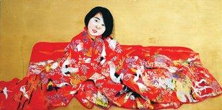 "Kae Sasaki, ""Red Burden,"" 2015"