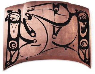 "Michael Nicoll Yahgulanaas, ""Copper from the Hood,"" 2011"