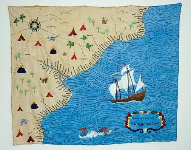 "Bettina Matzkuhn, ""The Adjectival Coast,"" 2007"