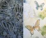 """Detail of textile art"""