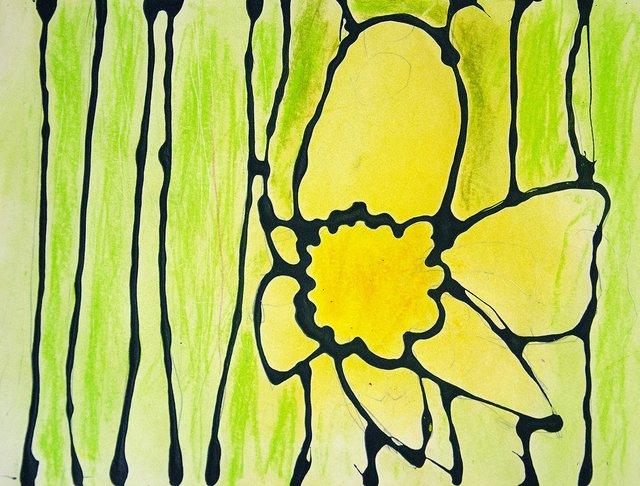 """Robbie Davies, """"Daffodil"""""""