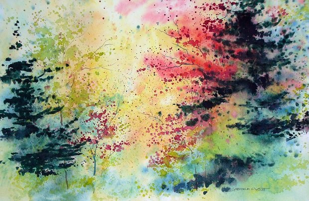 "Gabriele Vogt, ""Dream Forest"""