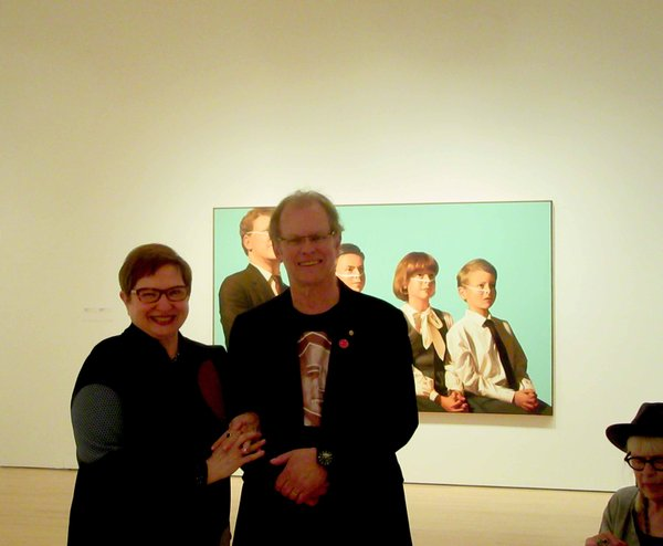 Chris Cran and Nancy Tousley