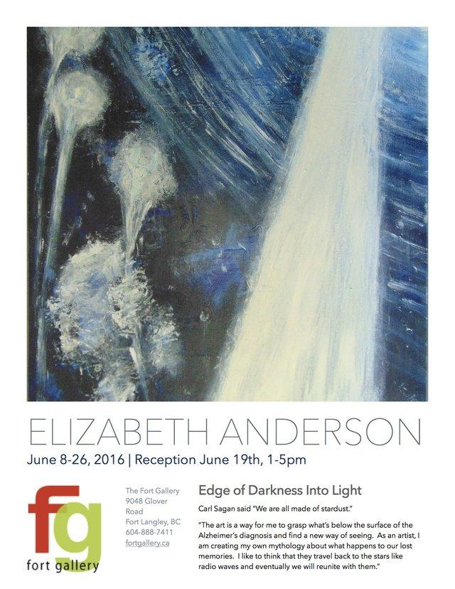 Elizabeth Anderson invitation