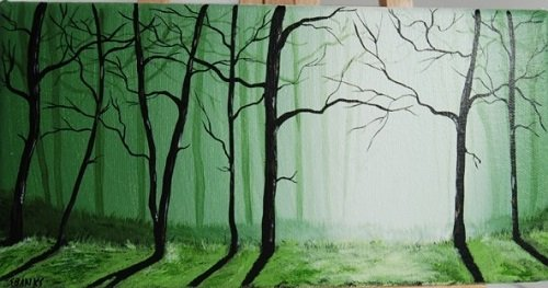 """Shelly Banks, """"Forest Series"""" (2 of 5)"""