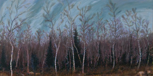 "Nicholas Burns, ""Beconia Sandbar Willow"""