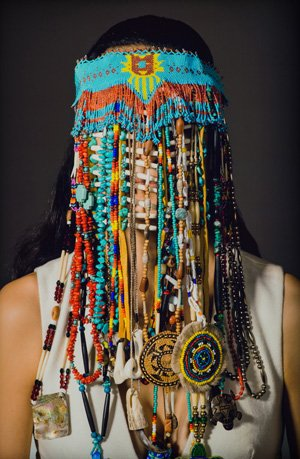 "Dana Claxton, ""Headdress,"" (2016)"
