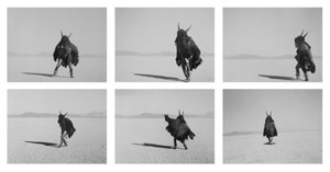 "Adrian Stimson, ""Shaman Exterminator, Playing on the Playa,"" (2009-10)"