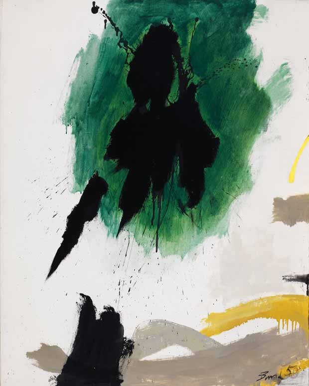 "Jack Hamilton Bush, ""Fragment,"" 1958"