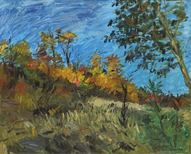 """William Goodridge Roberts, """"Autumn Landscape"""""""