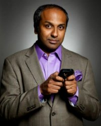 Sree Sreenivasan (photo by Deidre Schoo)
