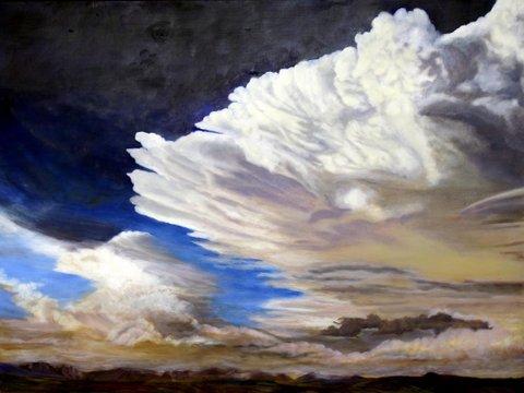 """Ellen Binns Dang, """"Approaching Storm,"""""""