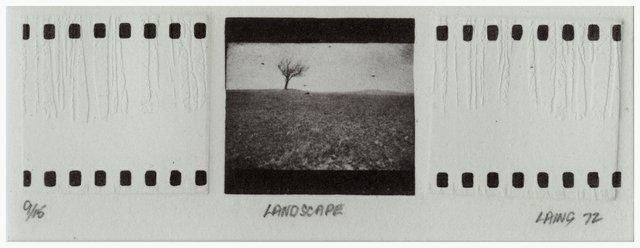 "William Laing, ""Landscape,"" 1973"