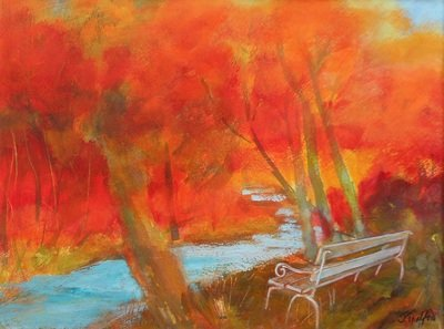 "Judy Trafford, ""The Bench"""