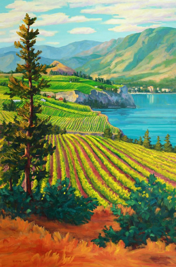 """Robyn Lake, """"Another Glorious Day in Paradise"""""""