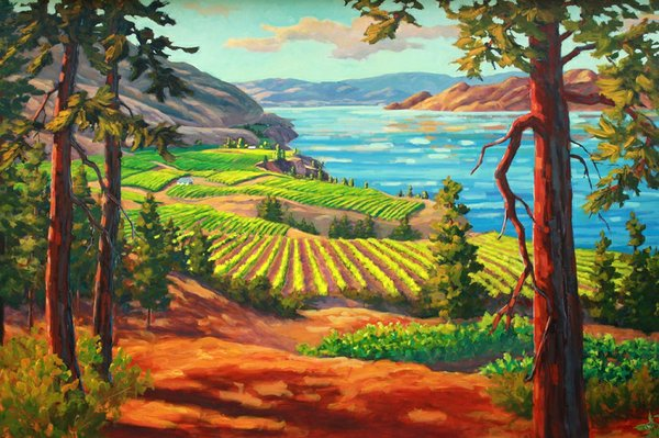 "Robyn Lake, ""North-Summerland"""