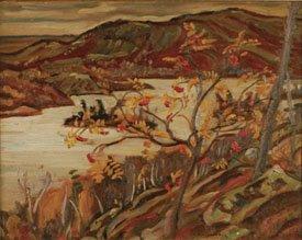 """""""Mountain Ash, Grace Lake"""""""