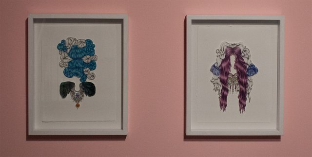 """Rachel Ludlow, """"Paper Doll #1 and Paper Doll #3,"""" 2013"""