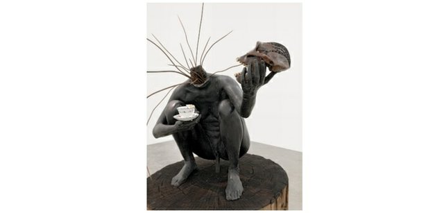 """Bharti Kher, """"And all the while the benevolent slept,"""" 2008"""