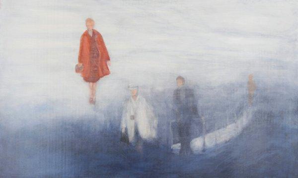 "Linda Craddock, ""Levitas: Winter Bridge. Columbia Icefields,"" 2015"