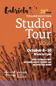 Gabriola Island Studio Tour 2016