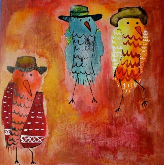 """Jenn Ashton, """"Reel Birds"""""""