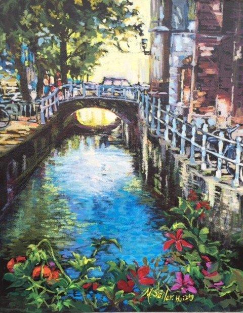 "Maria Seiler - Huizing, ""Canal Crossing"""
