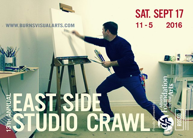 Burns Visual Arts Studio Crawl 2016