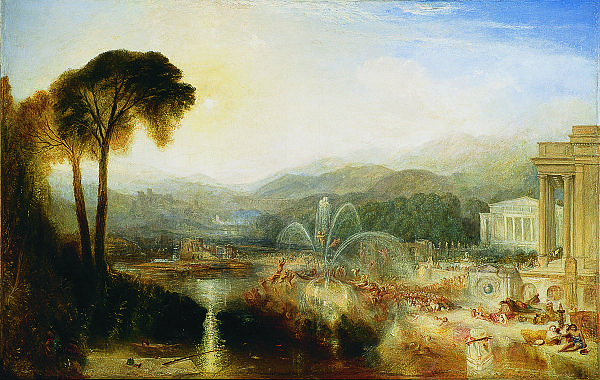 """J. M. W. Turner, """"The Fountain of Indolence,"""" 1834"""